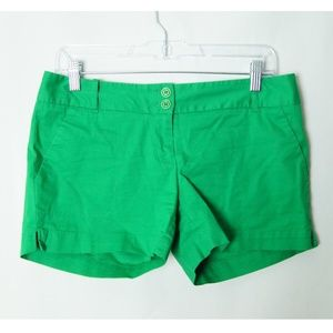 THE LIMITED Green Shorts
